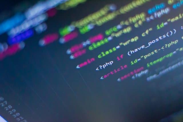 HTMLソース画面